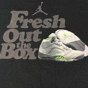 Jordan tshirt shirt tee black sz 3xl basketball
